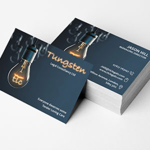 Corporate visiting cards designing and printing online in India