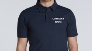 Corporate Tshirt Printing Polo T-Shirt Customized