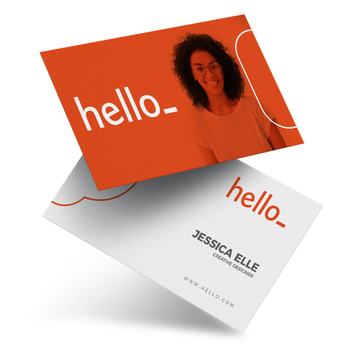 Business Cards Print Front Back 250 GSM