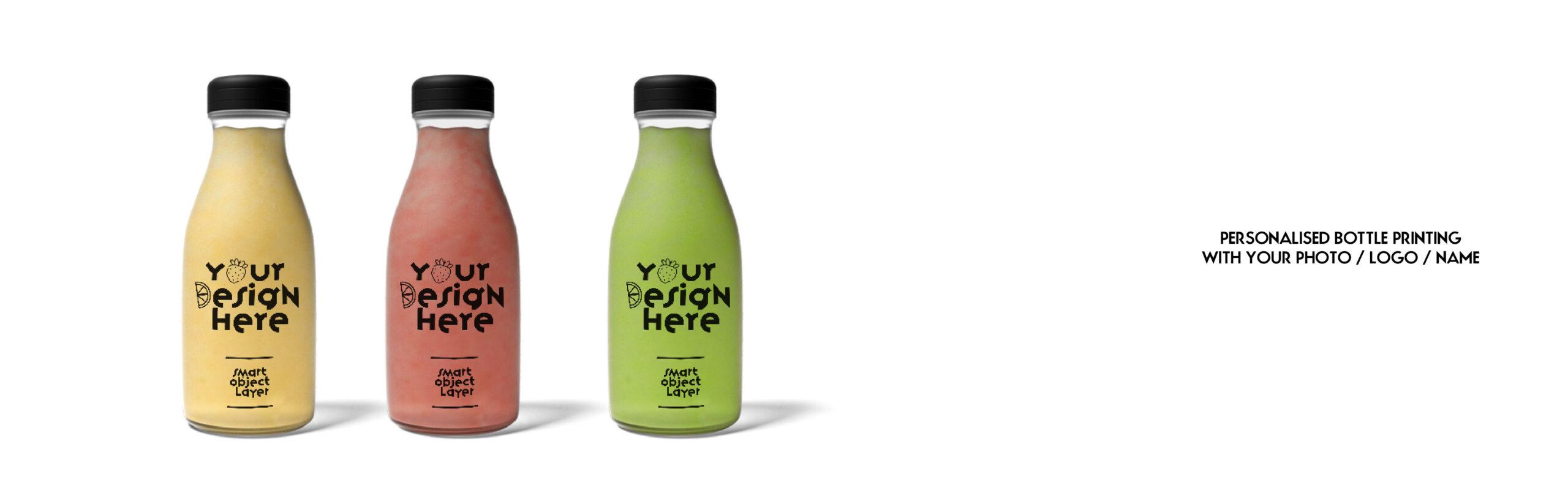 Bottle printing - Custom bottle Printing - Juice Bottle with logo - Printmax
