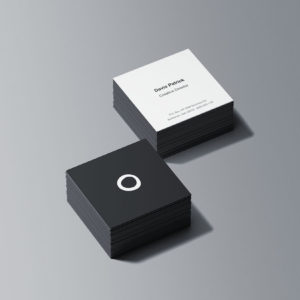 creative premium visiting cards design and print