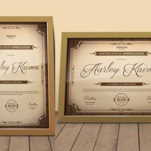 order certificate frames online in India-Printmax