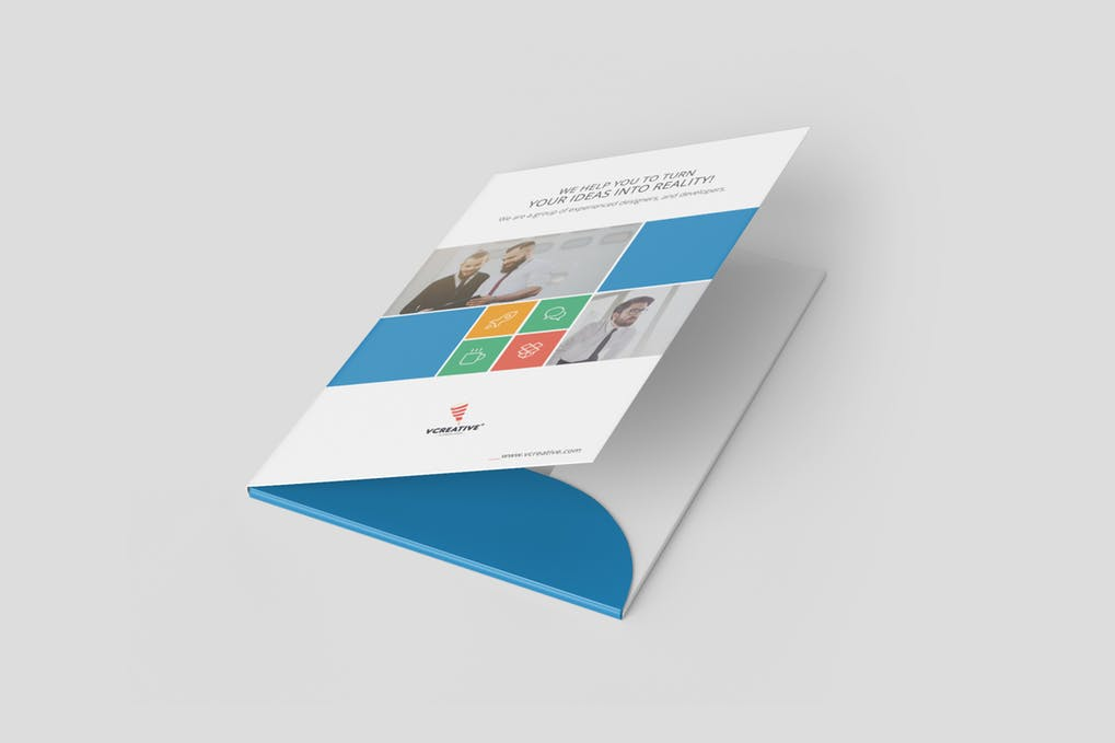 Presentation Folders on Art Paper 300 GSM