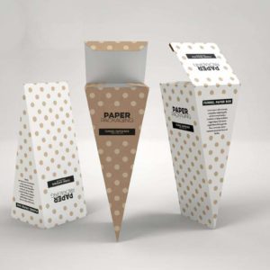 Customised Paper Boxes - funnel shaped - India - Mumbai - Printmax