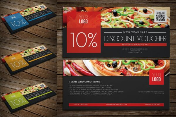 discount card designer