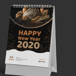print new year calender