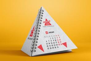 Pyramid calendar
