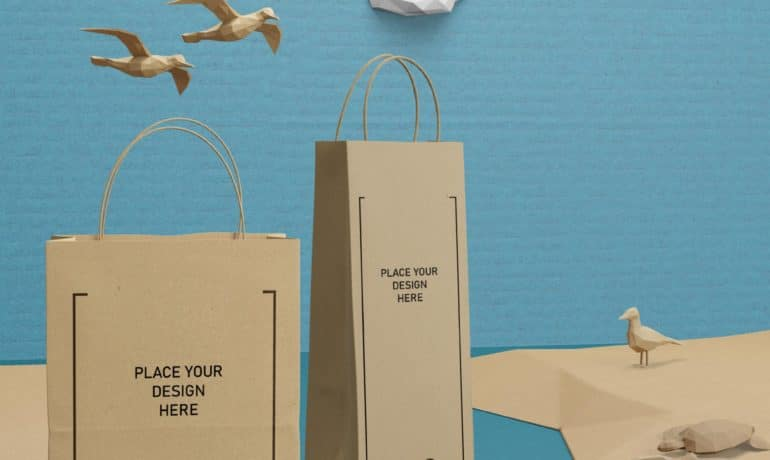 Custom Paper Bags & Tote Bags - Eco Friendly