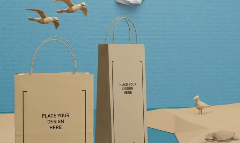 Custom Paper Bags & Tote Bags - Eco Friendly