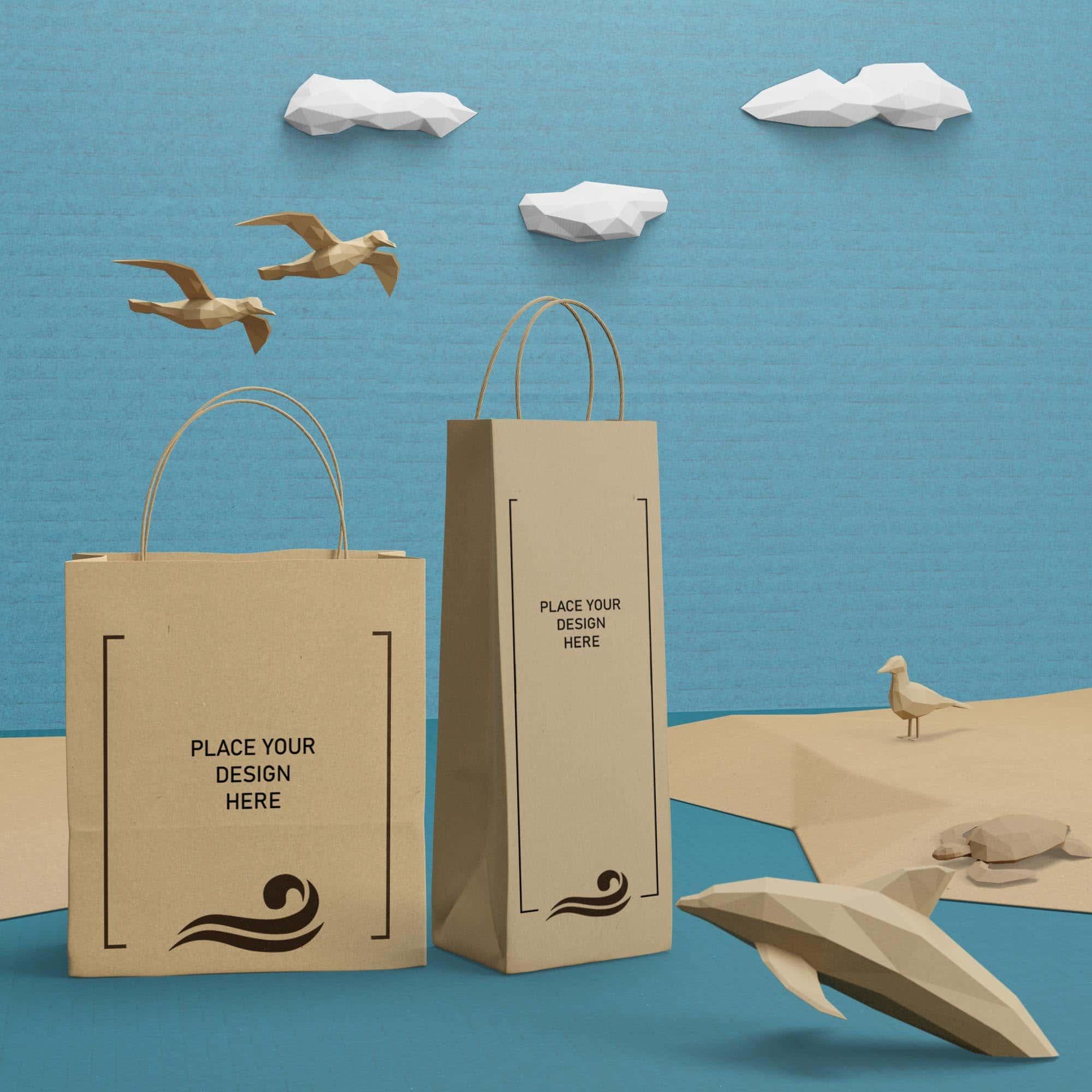 Custom Paper Bags & Tote Bags – Eco Friendly