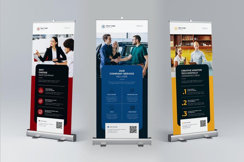 digital printed standee