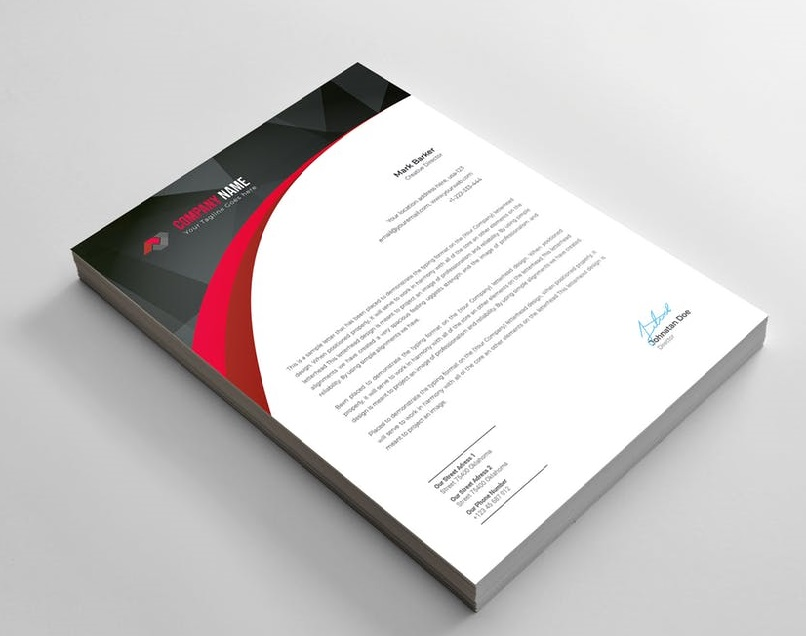 120 GSM Letterhead Printing