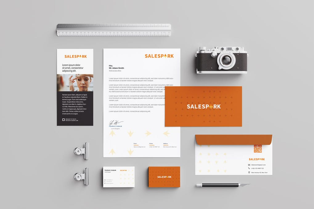 Fonts And Colors for Business Stationary 2