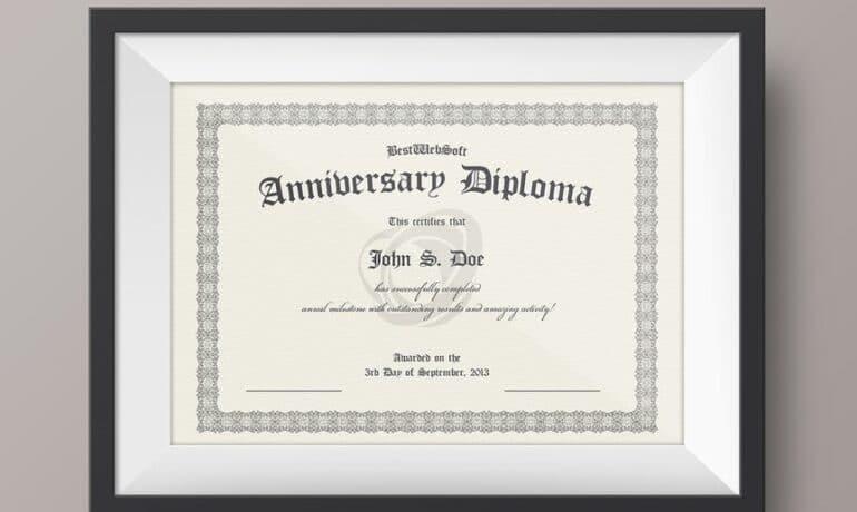 Certificate Printing Service